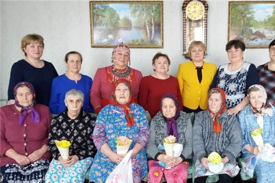 Праздничное мероприятие для пожилых в отделении стационарного обслуживания граждан пожилого возраста и инвалидов в д. Кзыл-Чишма