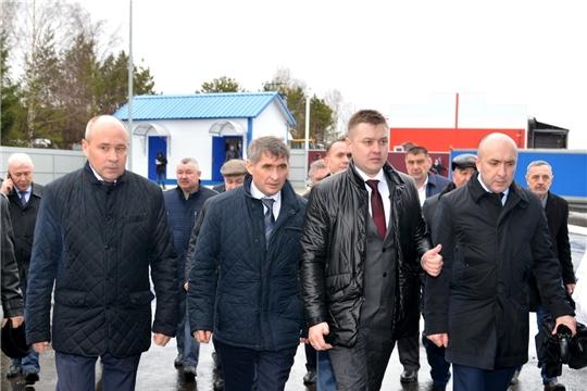 Временно исполняющий обязанности Главы Чувашии Олег Николаев посетил с рабочим визитом Батыревский район