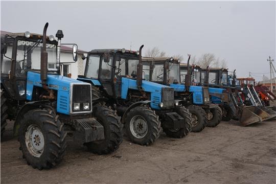 В Батыревском районе проходит комиссионный осмотр готовности сельскохозяйственной техники.