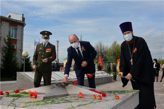 В Батыревском районе праздновали 75-ю годовщину Победы в Великой Отечественной войне