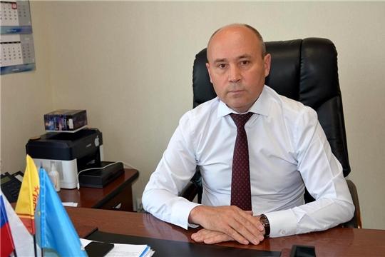 Глава администрации района Р.Селиванов выражает слова благодарности за участие в голосовании по внесению поправок в Конституцию Российской Федерации