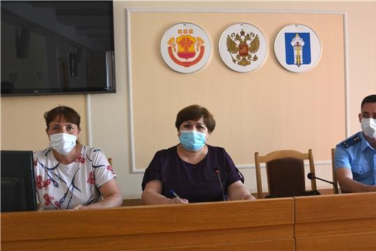 Заседание комиссии по делам несовершеннолетних и защите их правадминистрации Батыревского района