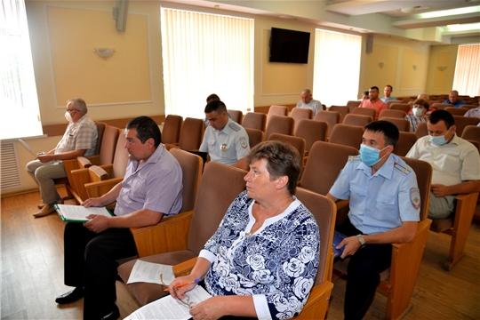 Заседание комиссии по безопасности дорожного движения
