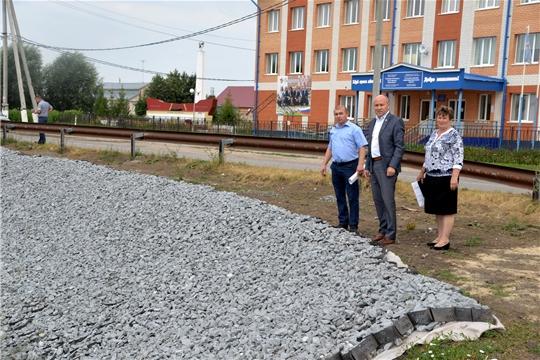 Ход строительства объектов В Сугутском и Алманчиковском сельских поселениях