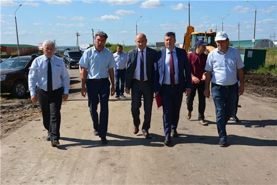 Министр транспорта Чувашии посетил Батыревский район