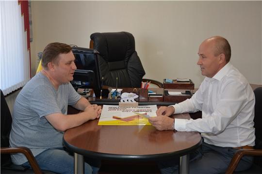 Министр информатизации Чувашии  в Батыревском районе