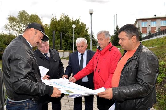 Батыревский район посетил главный архитектор республики