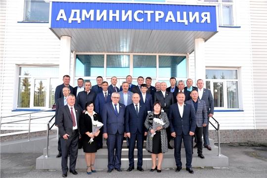 В Батыревском районе проведено первое заседание Собрания депутатов нового VII созыва