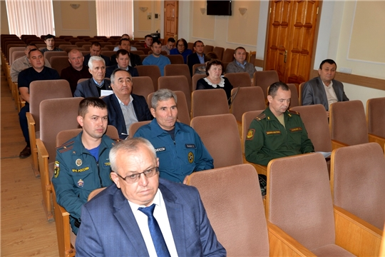 Заседание комиссии по предупреждению и ликвидации чрезвычайных ситуаций и обеспечению пожарной безопасности Батыревского района