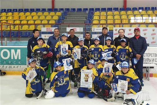 Команда юных хоккеистов «Олимп» вышла в полуфинал регионального этапа Кубка «Добрый лед-2020»
