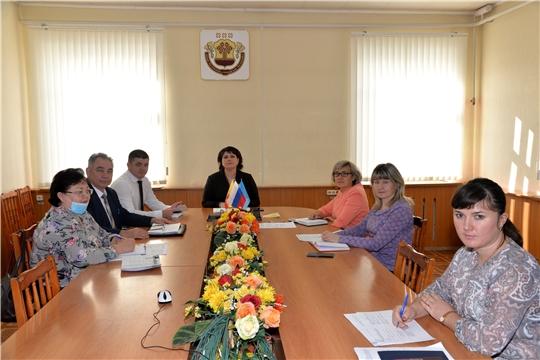Заседание межведомственной комиссии по вопросам повышения доходов консолидированного бюджета Батыревского района
