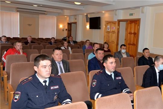 Заседание районной комиссии по обеспечению безопасности дорожного движения