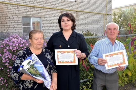 Праздничные поздравления в честь Международного дня пожилых доставлены на дом