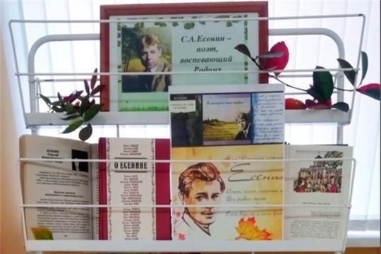 Литерный час, посвященный 125-летию со дня рождения С.Есенина «Я душу выплесну в слова …»
