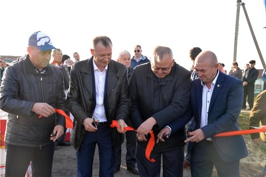 В Батыревском районе открыты новые объекты