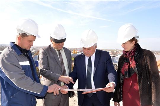 Рабочая поездка заместителя главы администрации района по объектам строительства