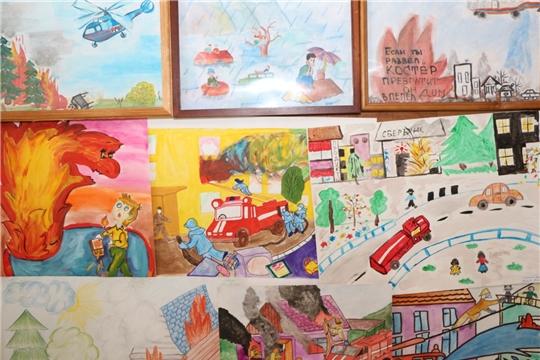 Воспитанница Старахпердинского детского сада - победитель фотоконкурса «Гражданская оборона глазами детей»