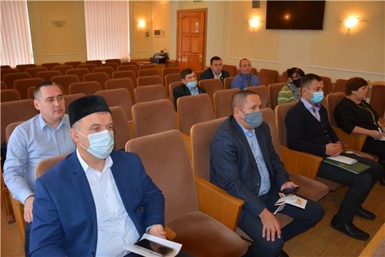 Заседание Совета по межнациональным и межконфессиональным отношениям в Батыревском районе