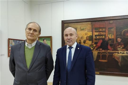 Рабочая встреча главы администрации Батыревского района с деятелями искусств Чувашской Республики