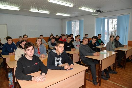 В ходе рабочей поездки в район ректор вуза встретился со студентами Батыревского агротехникума