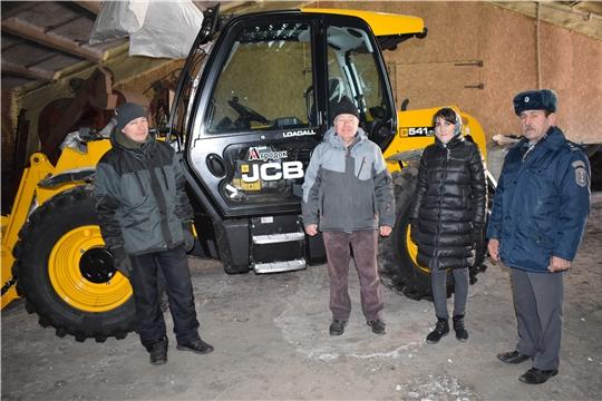 В Батыревском районе идет проверка постановки сельхозтехники назимнее хранение