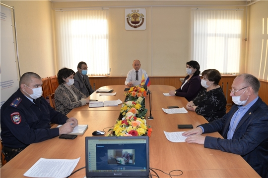 Очередное заседание районного Оперативного штаба по предупреждению распространения коронавирусной инфекции