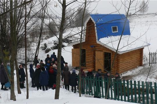 К празднику Крещения Господня в Чебоксарском районе открылась купель