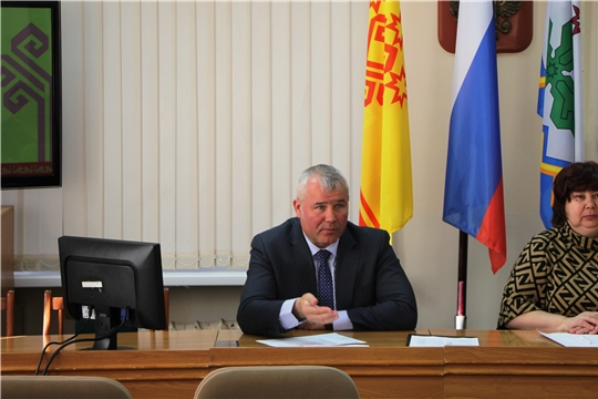На планерке администрации обсудили работу по профилактике коронавируса в Чебоксарском районе