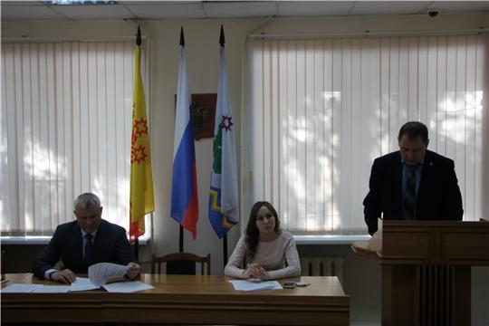 В Чебоксарском районе прошло заседание Комиссии по профилактике правонарушений
