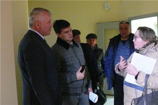 Глава админстрации района Н.Е. Хорасев посетил детский сад в д. Большие Катраси
