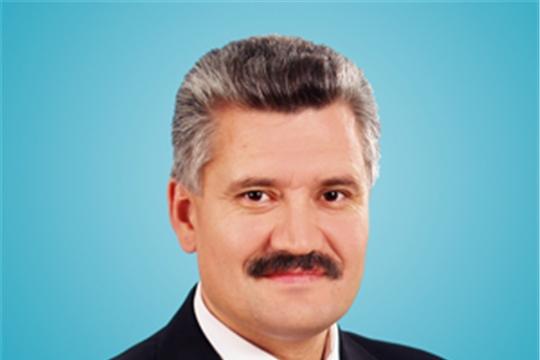 Сегодня свой день рождения отмечает главный врач БУ «Чебоксарская районная больница» Минздрава Чувашии Владимир Викторов.