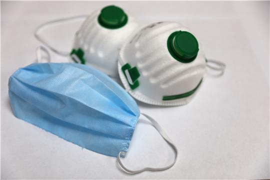 В Чувашии будут выпускать более 120 тысяч масок ежедневно