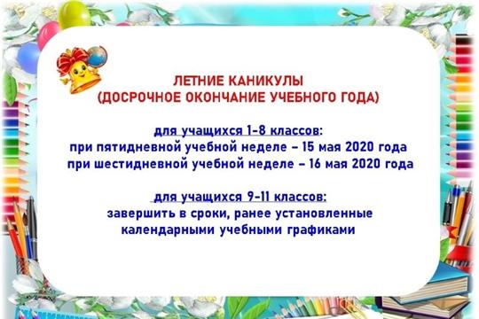 О завершении 2019/2020 учебного года