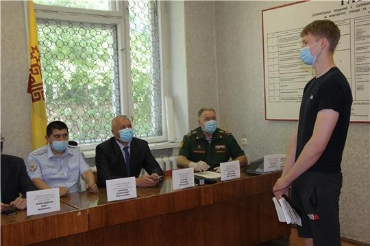 Состоялось заседание призывной комиссии Чебоксарского района