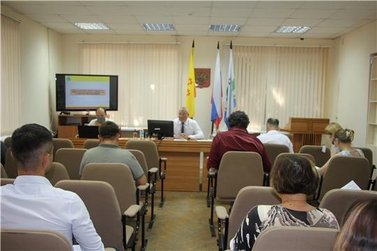 Совещание по рассмотрению проекта Комплексной программы социально-экономического развития ЧР на территории Чебоксарского района