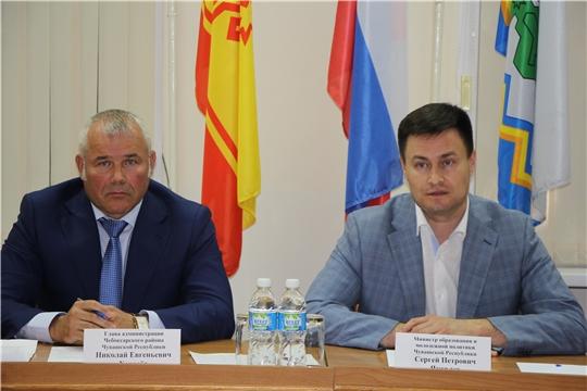 Рабочий визит министра образования и молодежной политики ЧР Сергея Яковлева