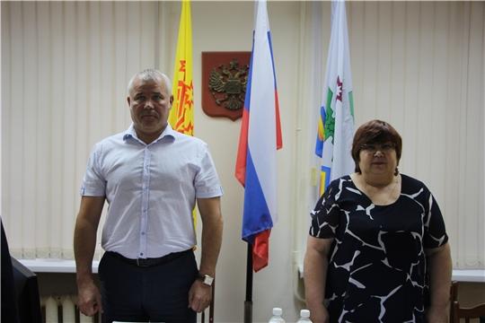 Заседание Собрания депутатов Чебоксарского района