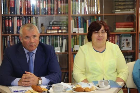 Встреча с членами совета Чебоксарского районного отделения «Союз пенсионеров России»