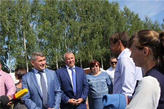 Врио Главы Чувашии Олег Николаев с рабочим визитом побывал в Чебоксарском районе