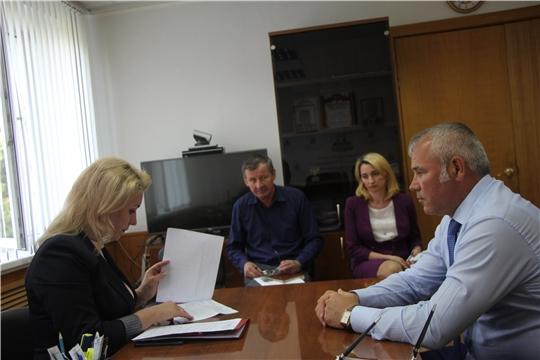 Руководитель Госслужбы Чувашии по конкурентной политике и тарифам Надежда Колебанова с рабочим визитом посетила Чебоксарский район