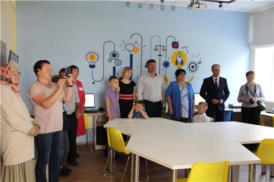 В Чебоксарском районе Чувашии открылась первая библиотека нового поколения