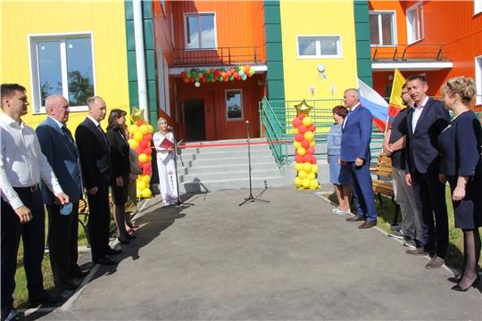 В деревне Большие Катраси открылся новый детский сад «Мечта» на 110 мест.