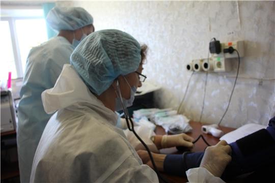 Работники администрации Чебоксарского района  привились от гриппа