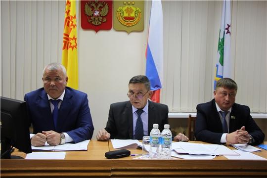 Первое организационное заседание Собрания депутатов Чебоксарского района Чувашской Республики седьмого созыва