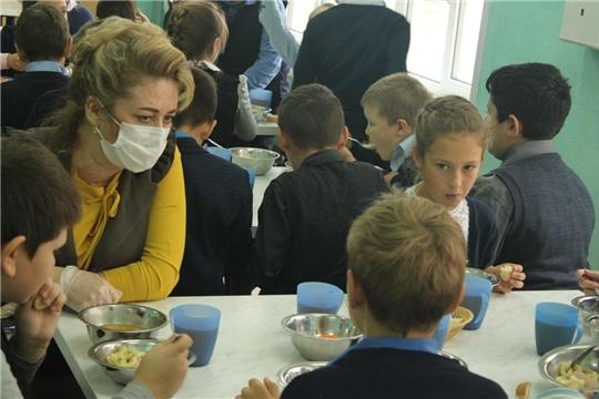 Марина Никитина без предупреждения проинспектировала школьные столовые.