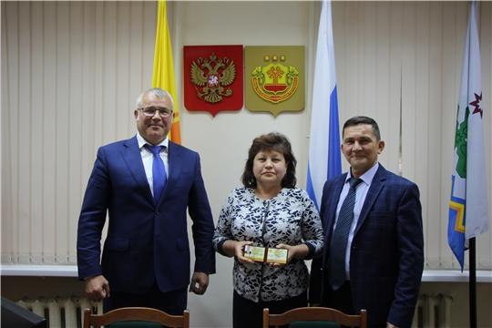 Очередное заседание Собрания депутатов Чебоксарского района Чувашской Республики седьмого созыва