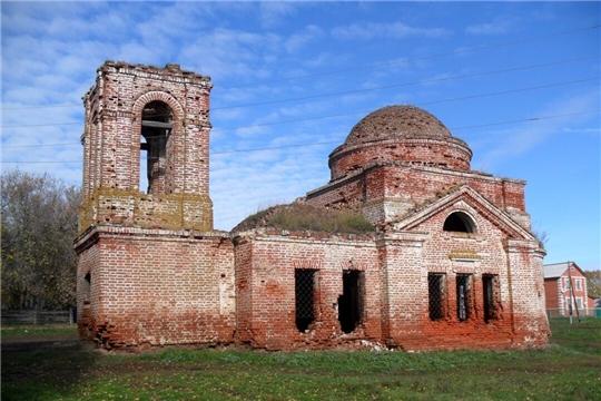 На кадастровый учет поставлен храм в Вурнарском районе