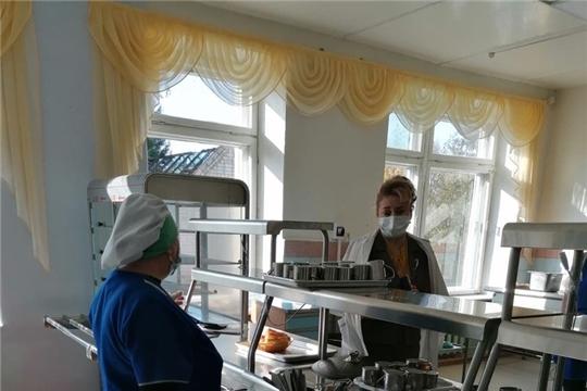 В Чебоксарском районе продолжается контроль за организацией питания и соблюдением санитарно-эпидемических правил в школах в условиях сохранения рисков распространения COVID-19