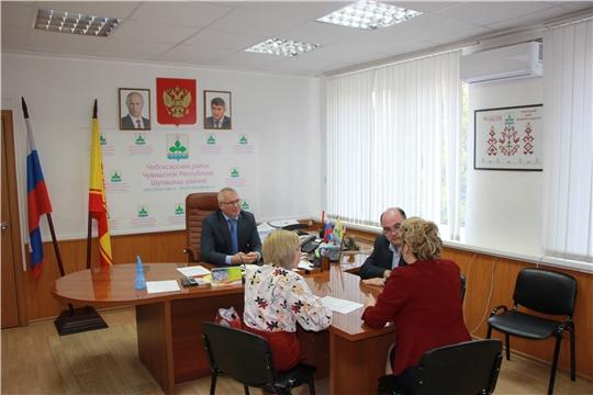 Андрей Макушев посетил Чебоксарский район