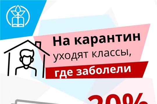 В Чебоксарском районе не планируется массовый перевод школ на дистанционное обучение